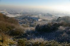 The Rowley Hills in winter (image © Mike Poulton)