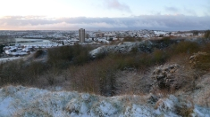 Winter view from the Rowley Hills (image © Mike Poulton)