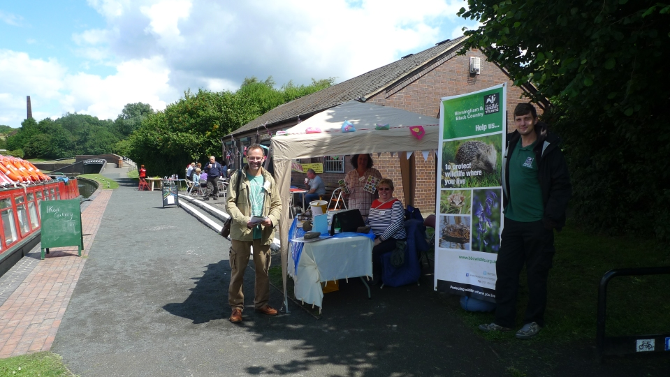 FORH at Bumble Hole Family Fun Day (image © Mike Poulton)