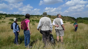 SandNats exploring the Rowley Hills (image © Mike Poulton)