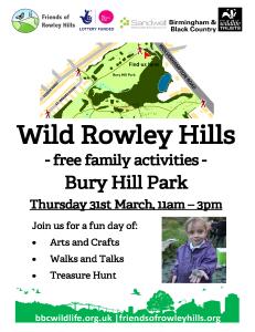 Wild Rowley Hills 31.03.16
