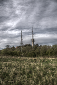 The masts on Turners Hill (image © Jane Tavener)