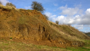 Geoconservation day on Portway Hill